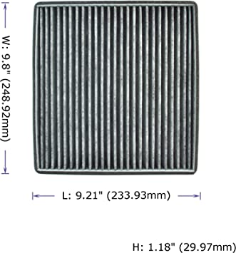 Cabin Air Filter for Cadillac//Chevrolet//GMC,Replacement for CP809.CF11809,22808781,23281440