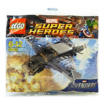 LEGO Super Heroes: Quinjet Establecer 30162 (Bolsas): Amazon ...