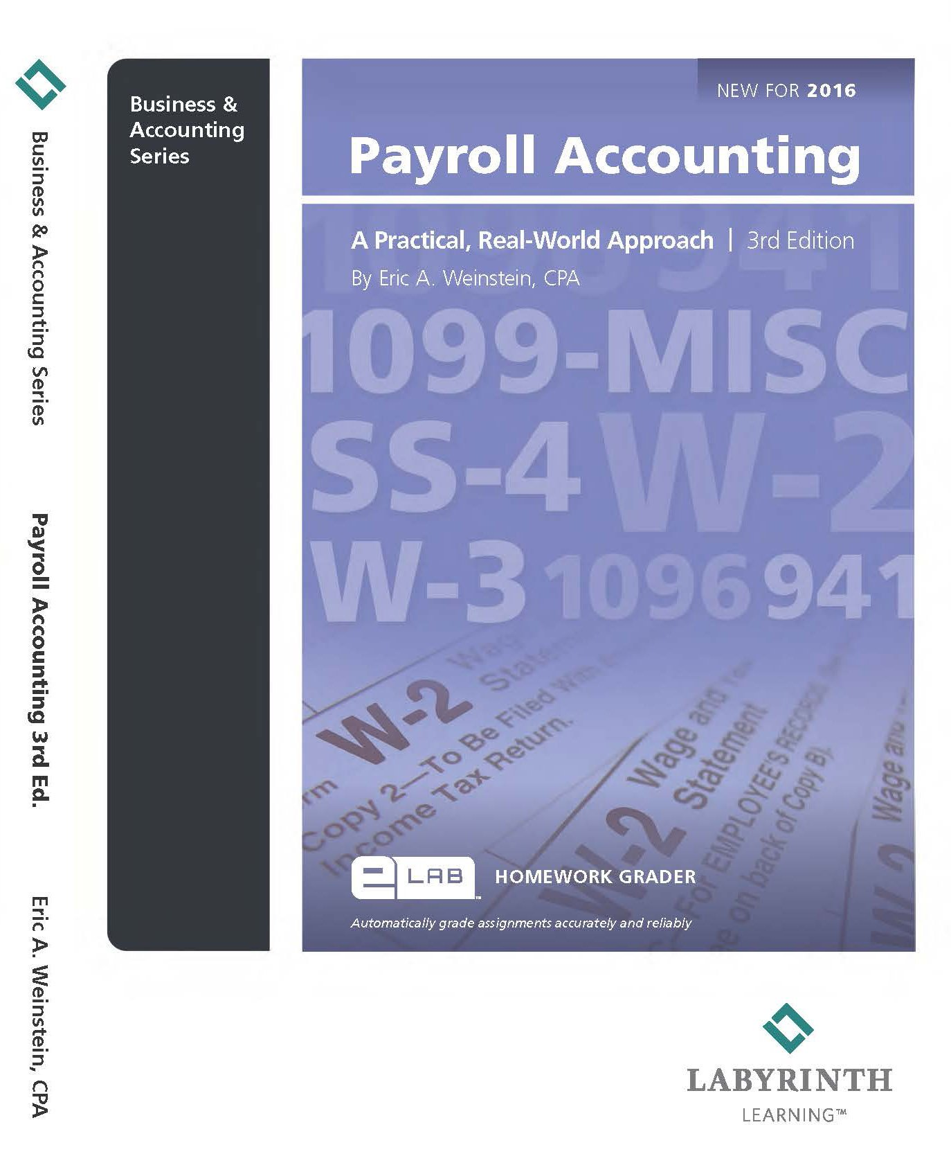 PAYROLL ACCOUNTING: CPA Eric A. Weinstein: 9781591368045: Amazon.com: Books