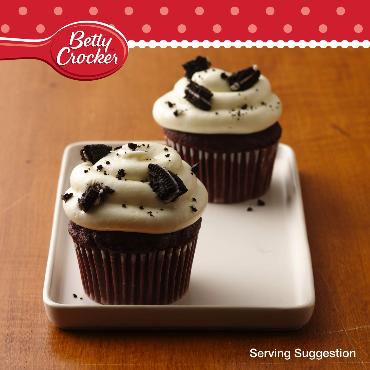 Betty Crocker, Cobertura para repostería - 2 de 400 gr. (Total 800 gr.): Amazon.es: Alimentación y bebidas