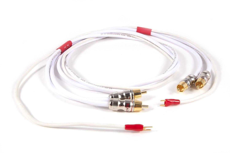 Negro rodio Rhythm brazo RCA Cable 1,5 m par: Amazon.es: Electrónica