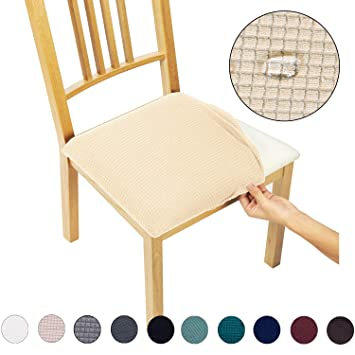 Amazon.com: Fundas de asiento para silla de comedor ...