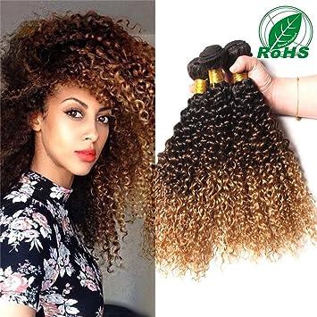Topuhair Tissage Cheveux Bouclés Chocolat Cheveux Naturels 100gpcs