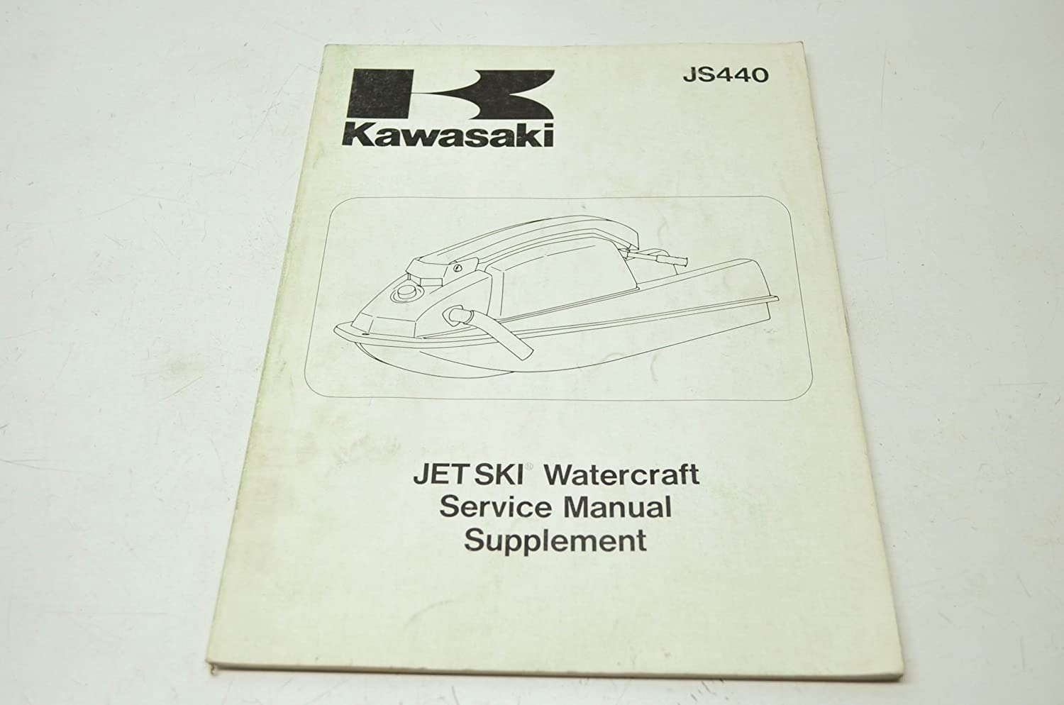 Amazon.com: 1984-1987 Kawasaki JS440 Service Manual SUPPLEMENT #  99924-1091-51: Automotive