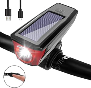 set up an amazon giveaway venoro ultra bright bike light set front and rear 1929