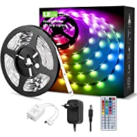 LE LED Tiras de Luces RGB 5M, 150