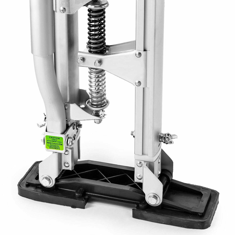 Silver GypTool Pro 15-23 Drywall Stilts