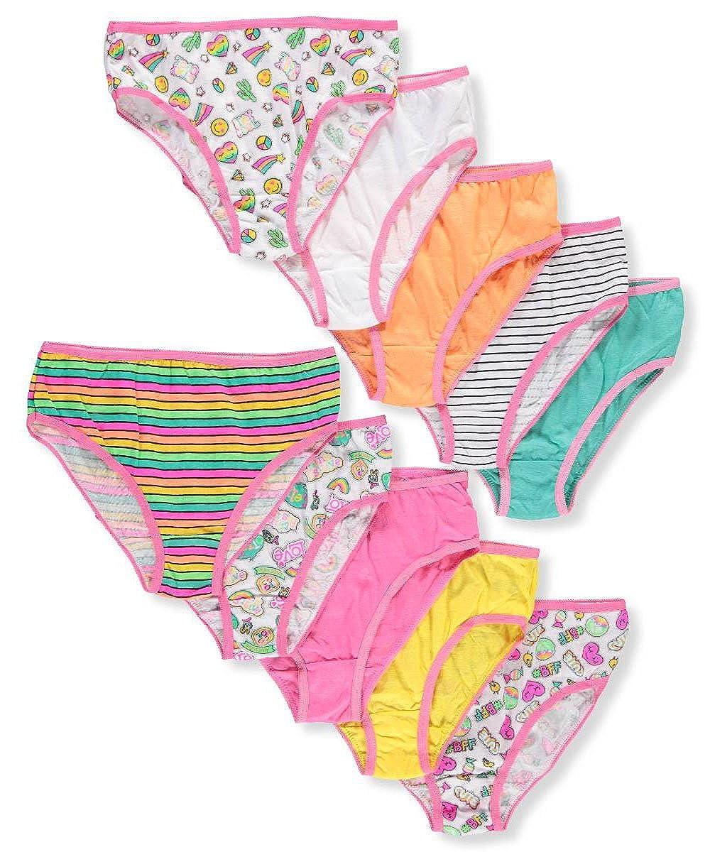Simply Adorable Girls' 10-Pack Bikini Underwear