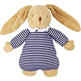 Lapin Musical Nid d'Ange Marinière 25Cm