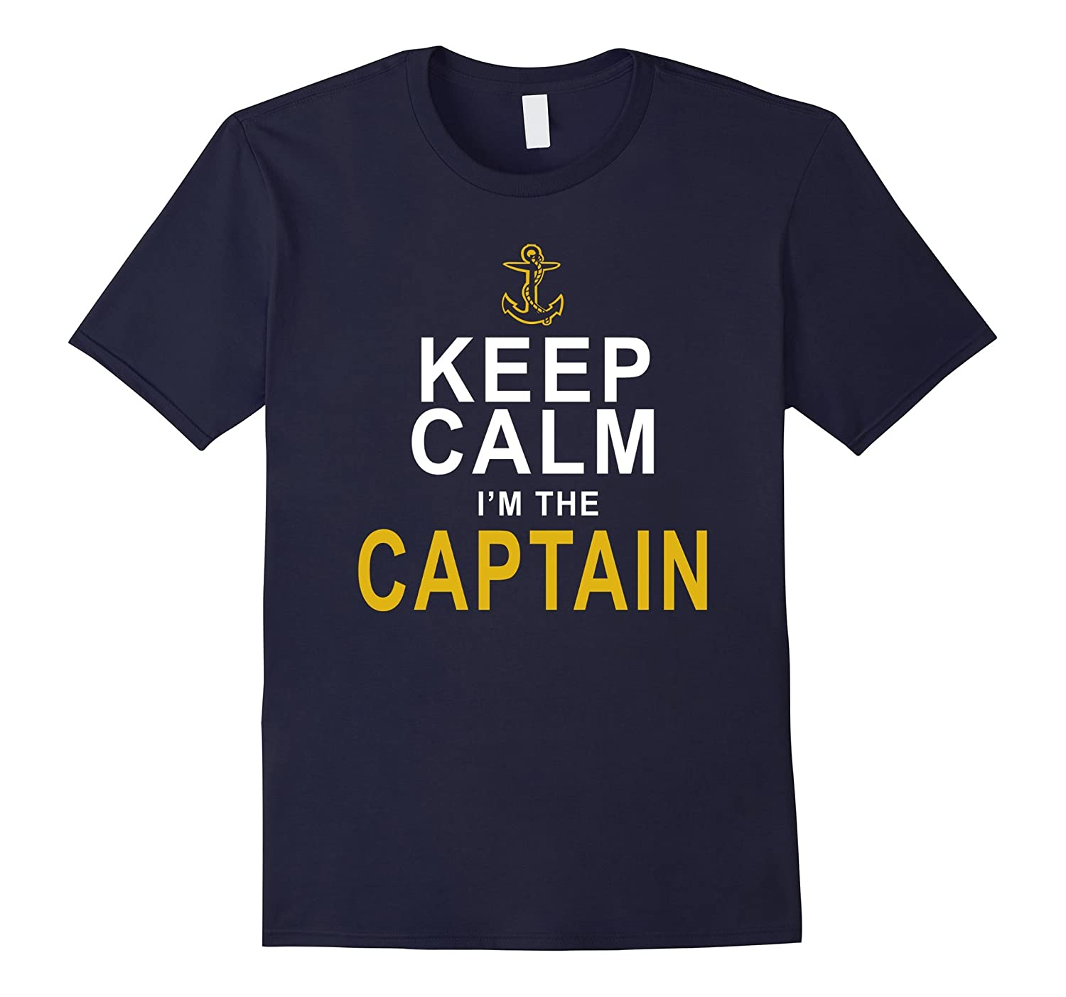 Boat Captain Shirt Keep Calm Im The Captain Boating Gifts-Art