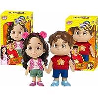 Bonecos Maria Clara e JP Kit Original Articulado Baby Brink