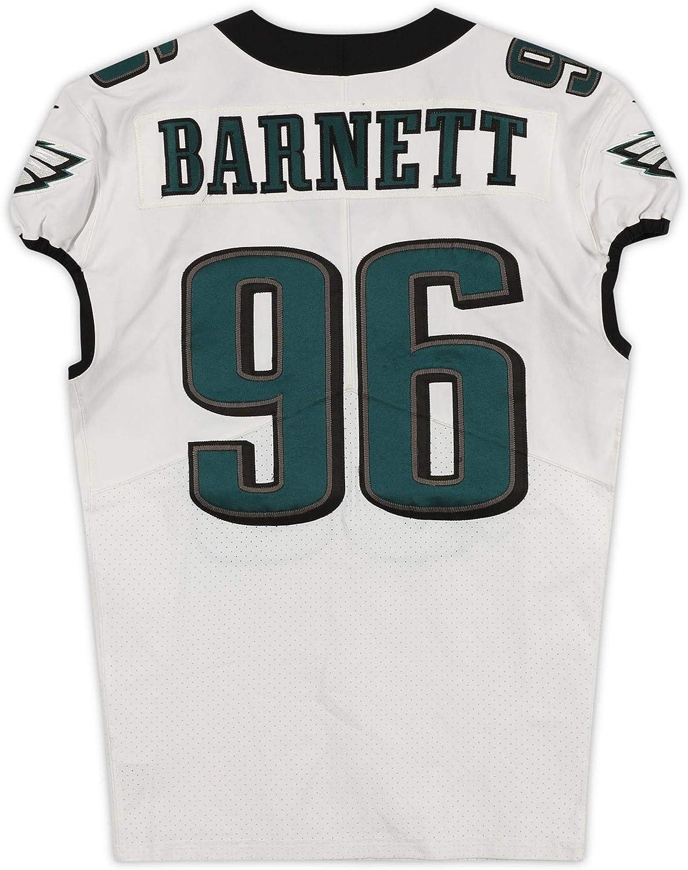 Derek Barnett Philadelphia Eagles Game-Used #96 White Jersey from ...
