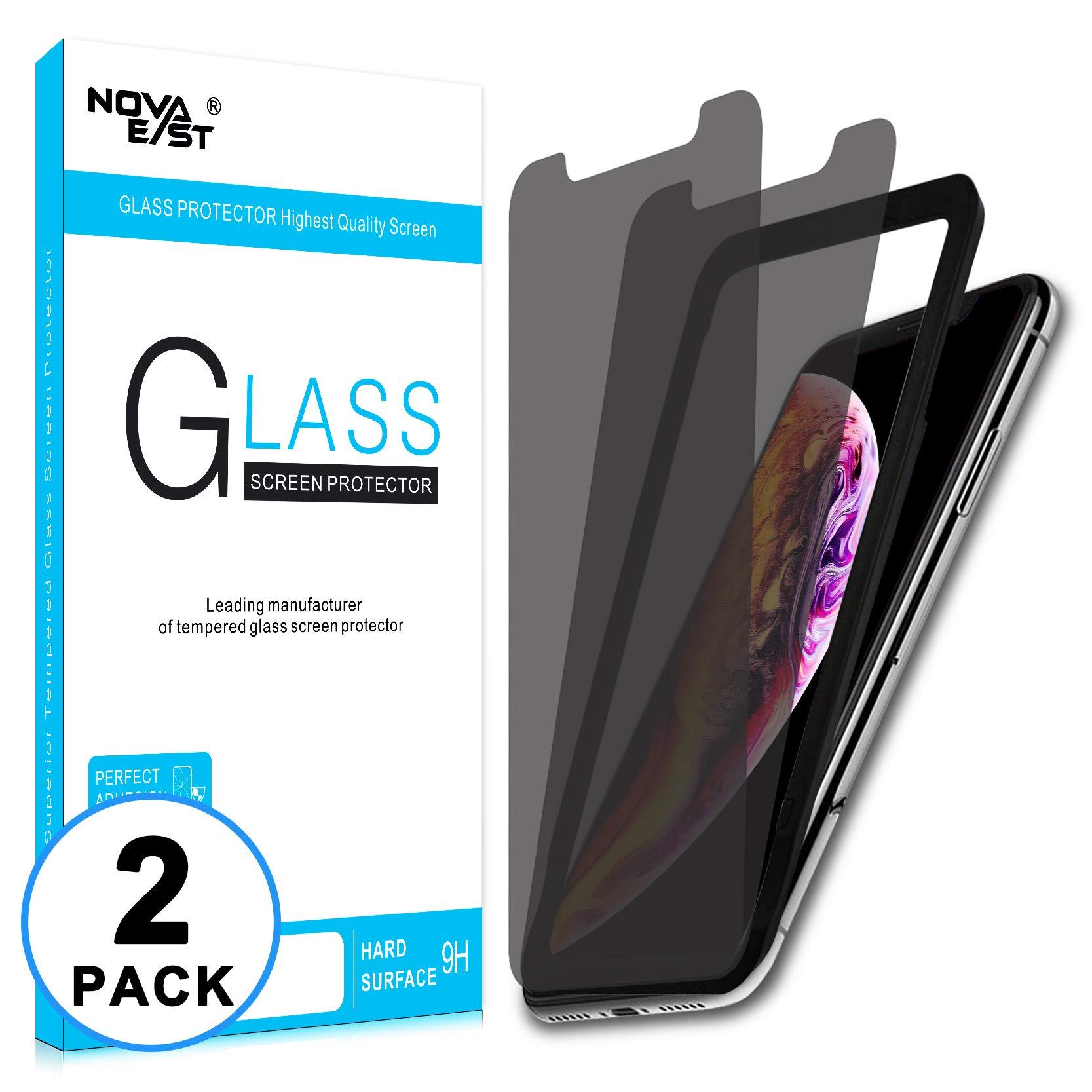 Vidrio Templado Para Iphone Xs Max [2 Un.] NOVAEAST