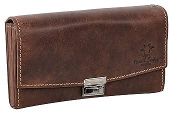 Gusti Cuero Studio Leila Bolso Cartera Monedero de Cuero para Camarero Dependiente Piel de Búfalo Vintage Retro 2A62-22-6: Amazon.es: Equipaje