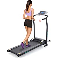 Acecoree 1.5HP Faltbares Laufband Elektrisches Laufband Running Training Fitness Laufband Tretmühle Home Office,125 x 59,9 x 107cm