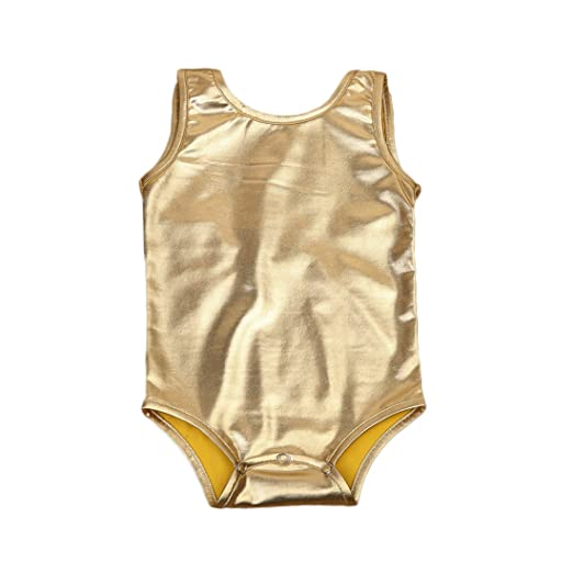 0741e0f3f Amazon.com  Newborn Infant Baby Girls Sparkle Bowknot Romper ...