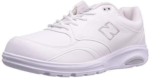 New Balance 812 - Zapatillas de soft tennis de cuero para hombre blanco blanco 43: Amazon.es: Zapatos y complementos