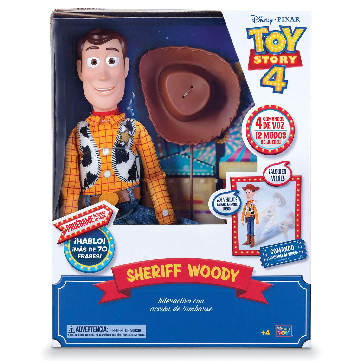 Toy Story- Woody Super Interaktiv (Bizak 61234431)