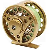 Croch Fly Fishing Reel with Aluminum Alloy Body 3/4, 5/6, 7/8 Weights(Black, Gun Green, Gold, Silver)