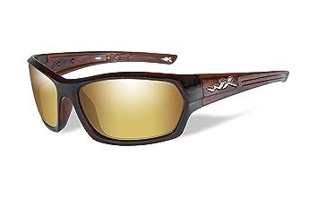 Wiley X WX Legend Gafas de Sol, Unisex, Wx Legend, Hickory Brown,