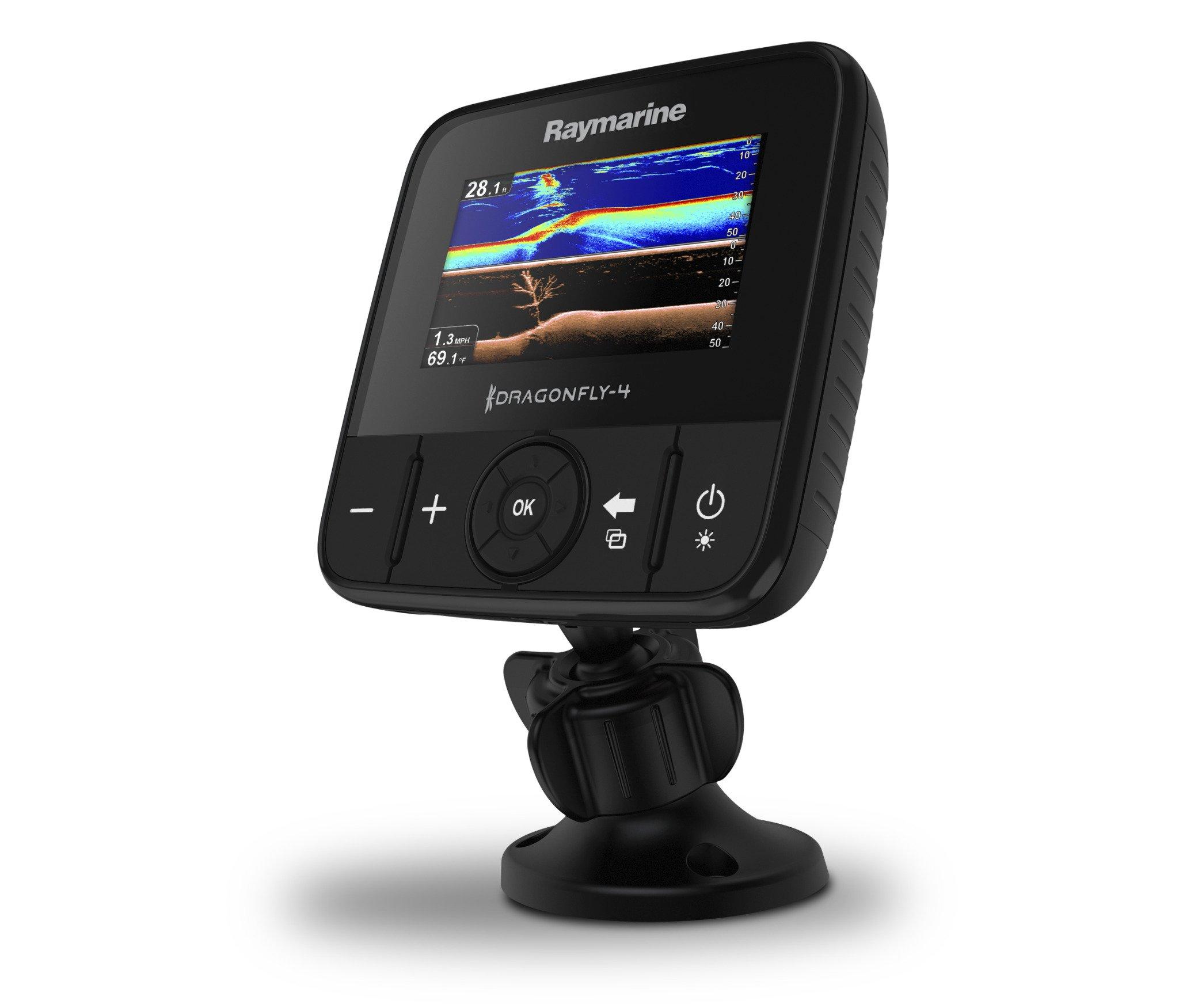 Raymarine Dragonfly-4 Pro Sonar/GPS with US C-Map Essentials by Raymarine