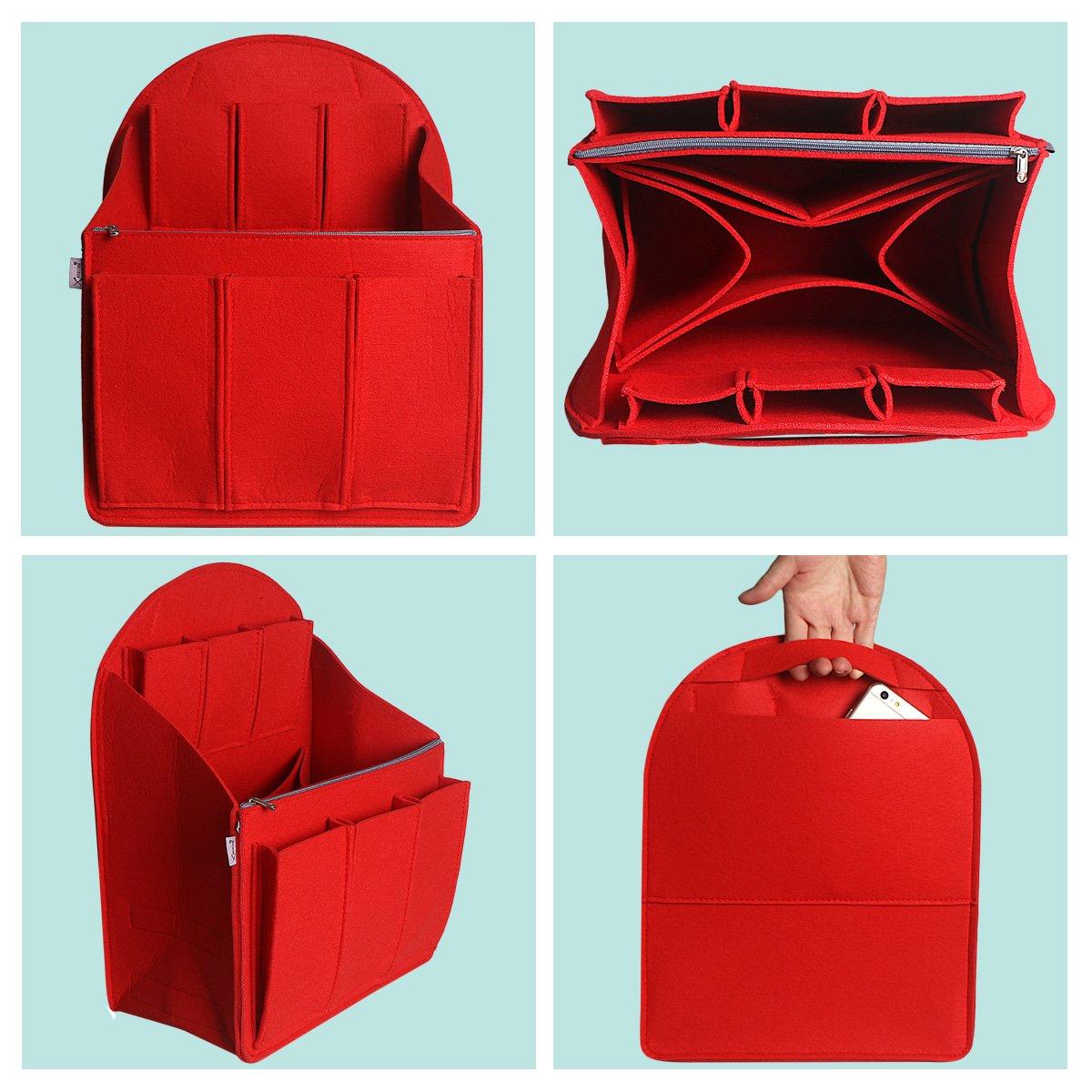 xhorizon SR Purse Organizer Insert Purse Handbag Tote Bag,Bag in Bag Organizer by xhorizon (Image #3)