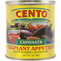 Cento Caponata Eggplant Appetizer, 7.0 - Oz. Cans (Pack of 12)
