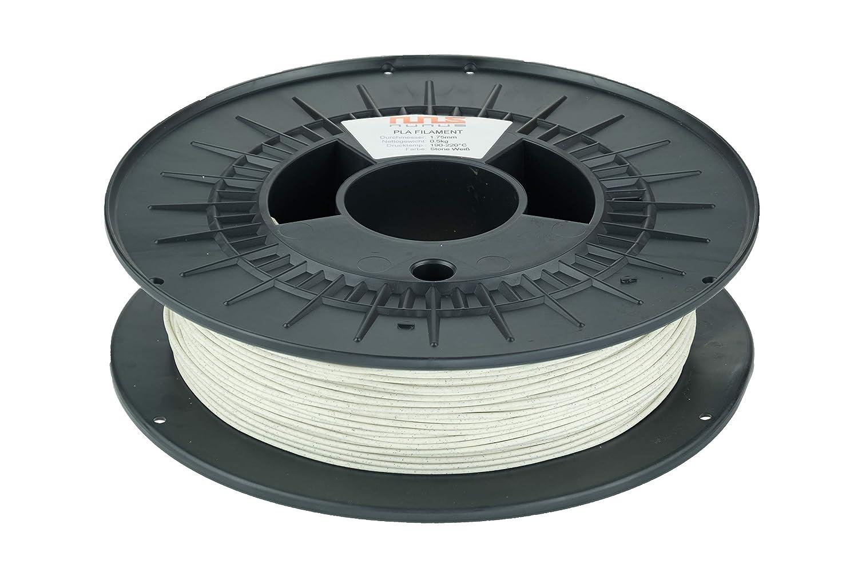 NuNus - Filamento PLA (0,5 kg, 1,75 mm, PLA 1,75 mm, para ...