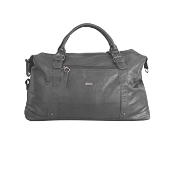 Large Weekend or Overnight Travel Duffle Bag in PU Leather by Bon Gout  Holdall Luggage Messenger 4ff8bc71bfca4