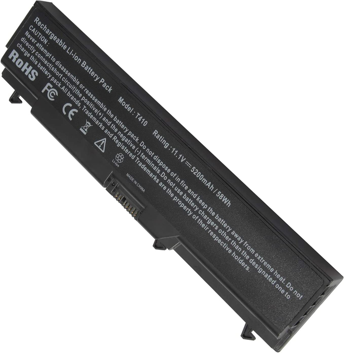 ARyee Laptop Battery Replacemet Compatible with Lenovo Thinkpad E40 E50 Edge 0578 E420 E425 E520 E525 L410 L412 L420 L421 L510 L512 L520 Sl410 Sl410k Sl510 T410 T410i T420 T510 T510i T520 W510 W520-12