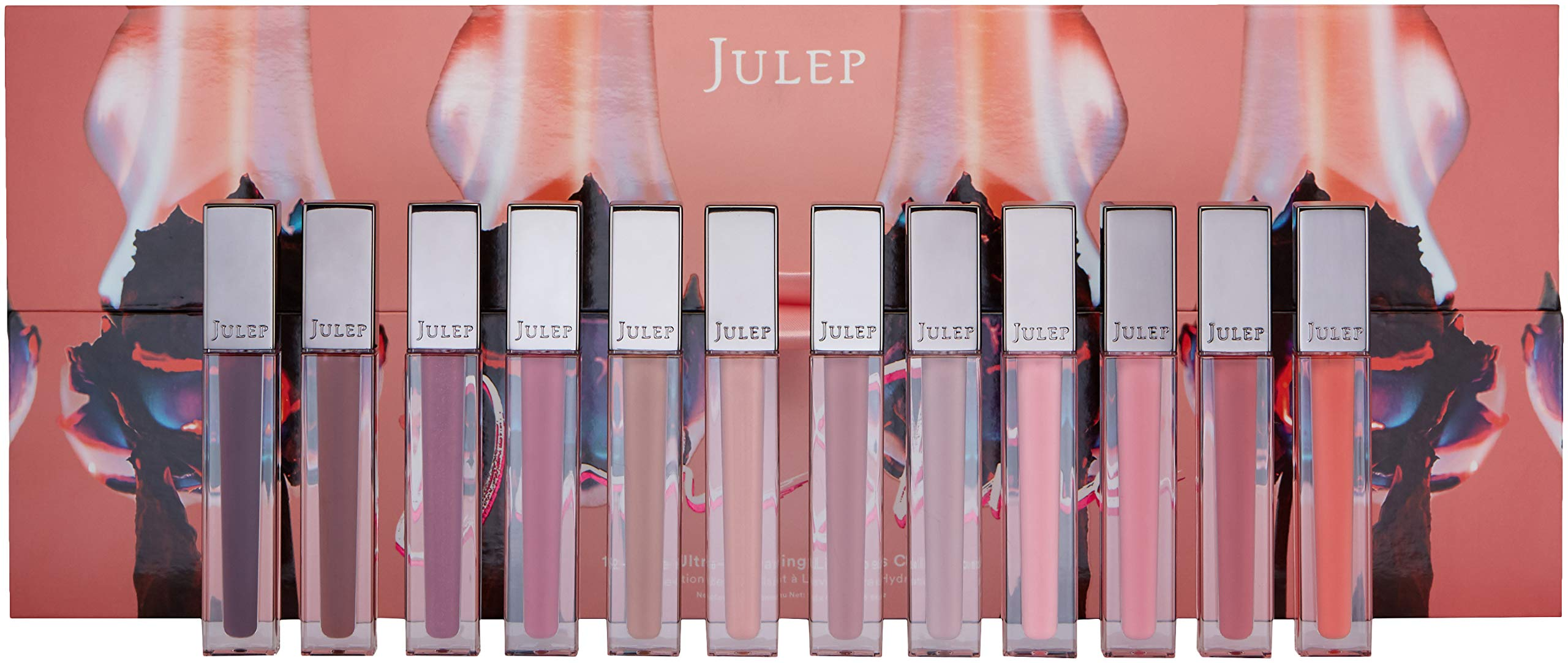 Julep Divine Shine 12-Piece Ultra-Hydrating Lip Gloss Collection