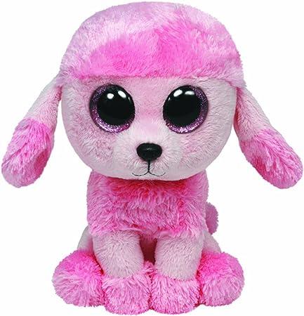 Ty 7136039 - Perro caniche de peluche Princess (15 cm), color rosa [importado de Alemania]: Amazon.es: Juguetes y juegos