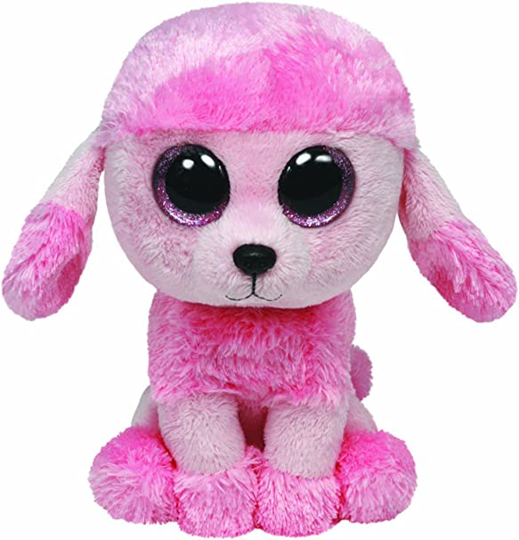 MANDY THE POODLE NEW TY Beanie Boo 6inch