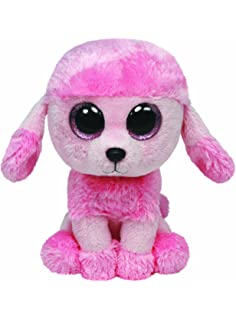 Amazon.com  Ty Beanie Babies Boos 36851 Mandy the Blue Poodle Boo ... b5c186476b87