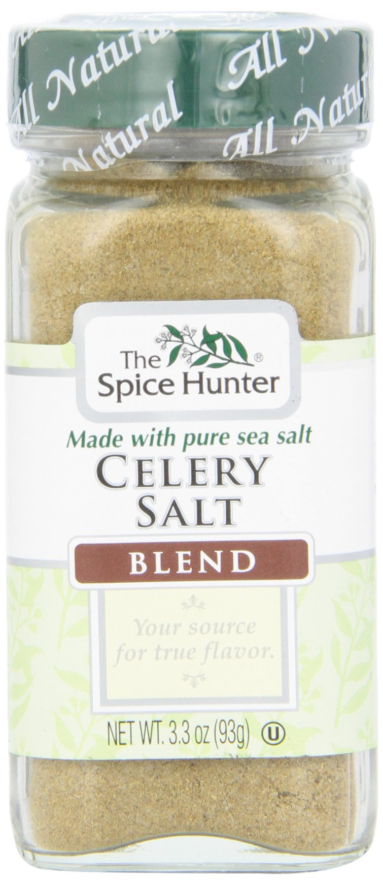 The Spice Hunter Celery Salt Blend, 3.3-Ounce Jar