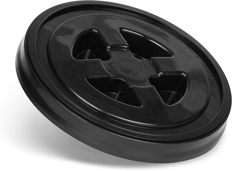 Cleantech Co Eimer Deckel Für Putzeimer Wasch Eimer Schwarz Für Die Professionelle Auto Handwäsche Autowäsche Motorradwäsch Shampoo Autopflege Auto