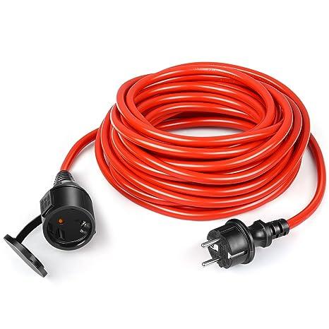 simbr Schuko Cable alargador para cortacésped/Interior/Exterior (de 40 & # x2103