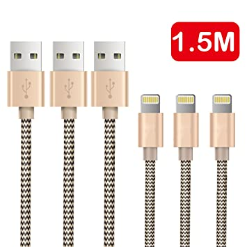 iphone charger otisa 5ft 1 5 meters pack of 3 lightning usb iphone charger otisa 5ft 1 5 meters pack of 3 lightning usb cable