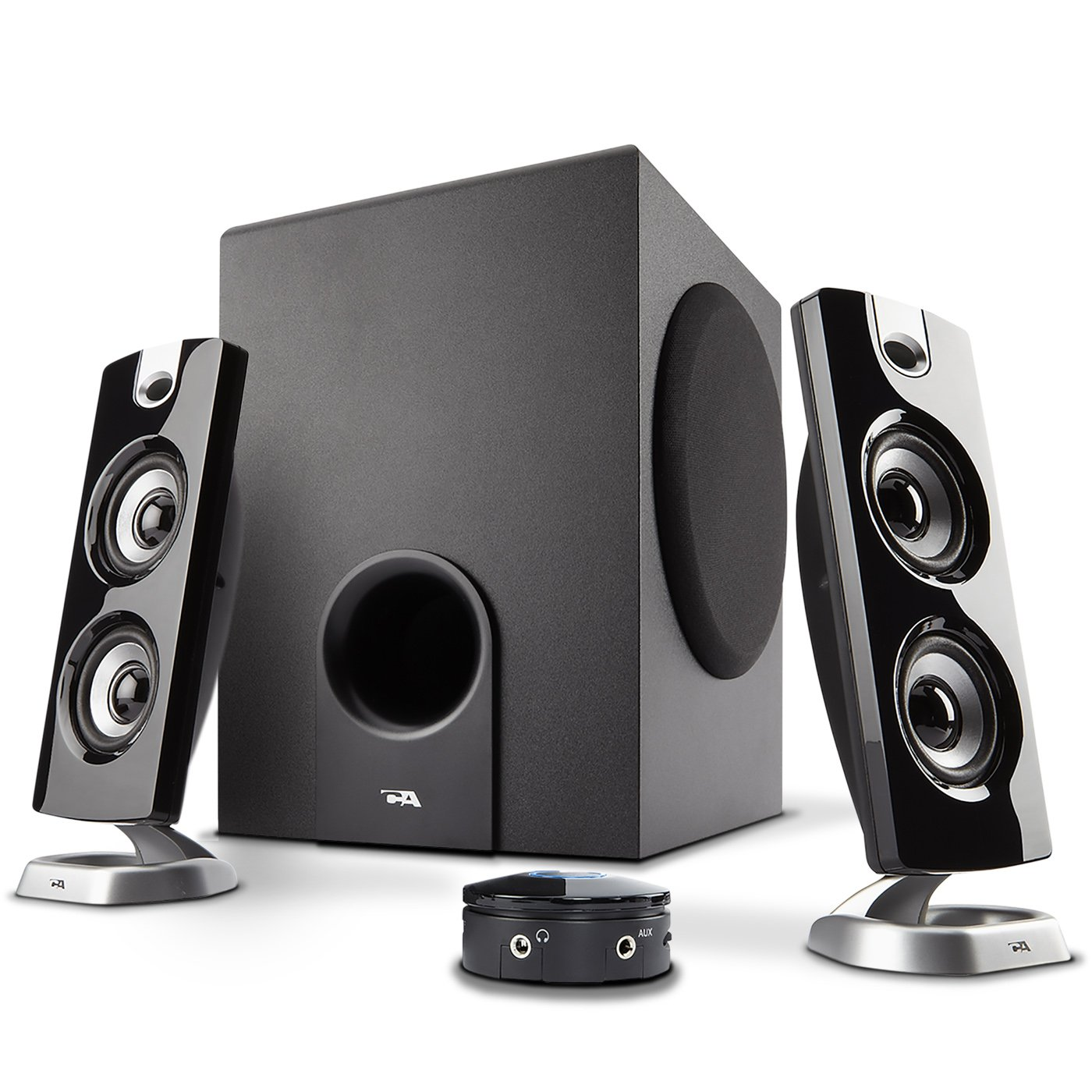 Cyber Acoustics CA-3602a 62W Desktop Computer Speaker with Subwoofer - Perfect 2.1 Gaming and Multimedia PC speakers