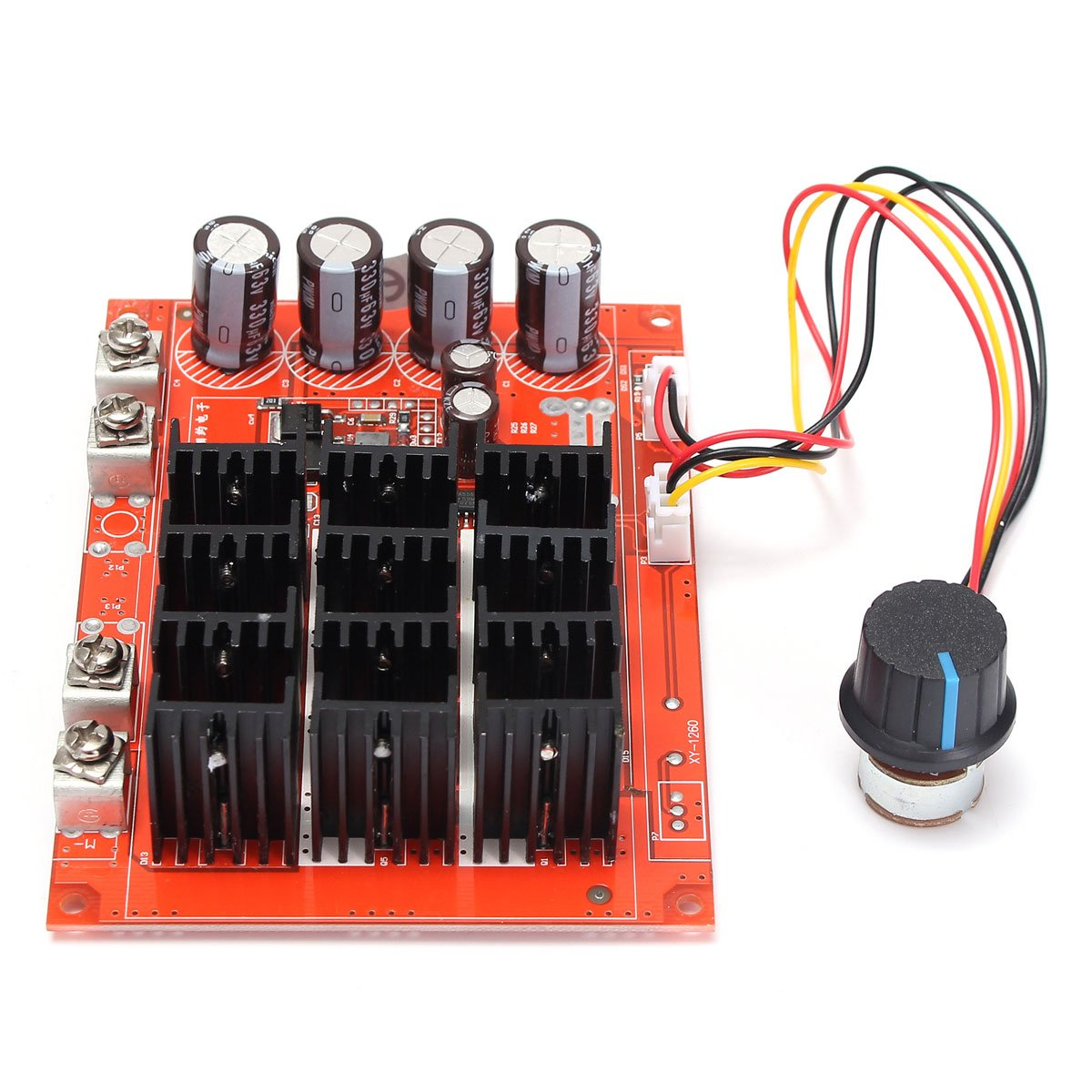 Best Rated In Motor Speed Controllers Helpful Customer Reviews Control 12v Low Side Pwm Elegiant Dc 10 50v 60a High Power Controller Hho Rc Driver