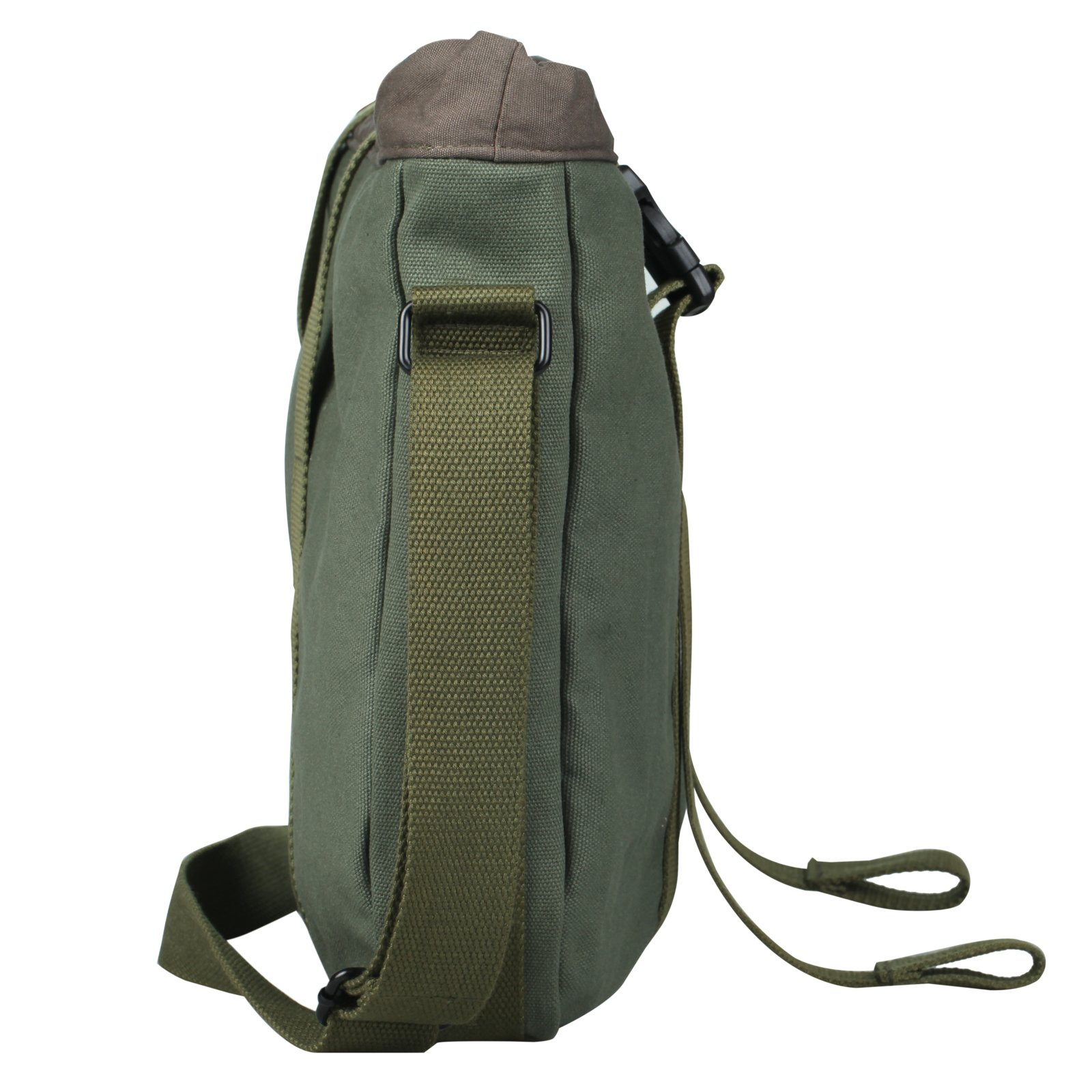Superzero Water Resistant Canvas Messenger Shoulder Bag For MenWomen,Vintage Business Laptop Computer Bag Fit Laptops 13'', 14'' and up to 15.6 Inches by Superzero (Image #2)