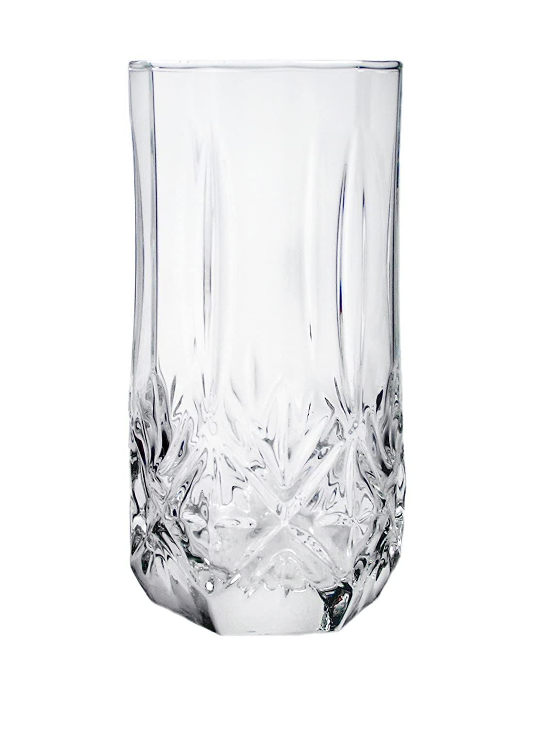ARC International Luminarc Brighton Cooler Glass, 15.75-Ounce, Set of 4 N4623