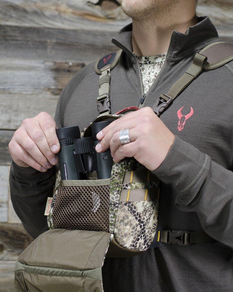 Badlands Bino X Camouflage Hunting Binocular Case, Hydration Compatible, Approach Camo by Badlands (Image #4)