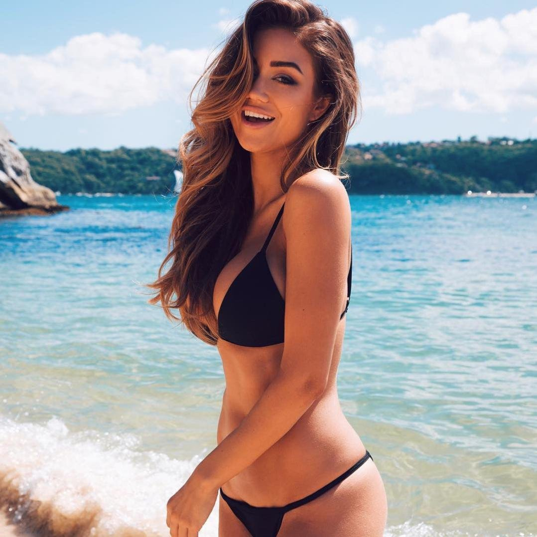 Sexy women in a bikini