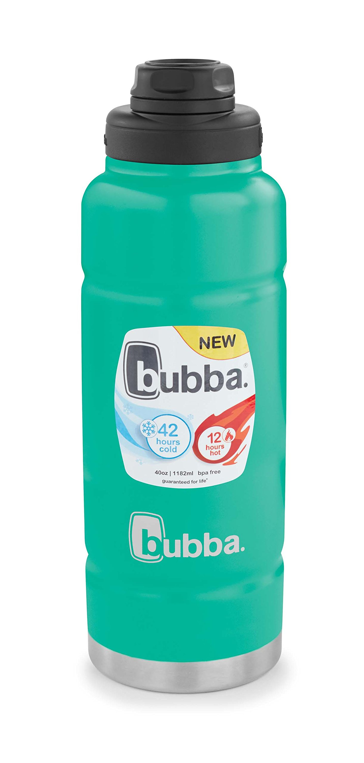 Bubba Trailblazer Vacuum-Insulated Stainless Steel Water Bottle, 40 oz, Rock Candy by bubba (Image #7)