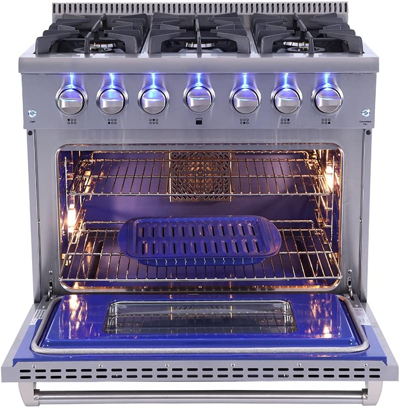 Unknown1 Lp Conversion Kit for 36in Professional Style Gas Range Gold Metal