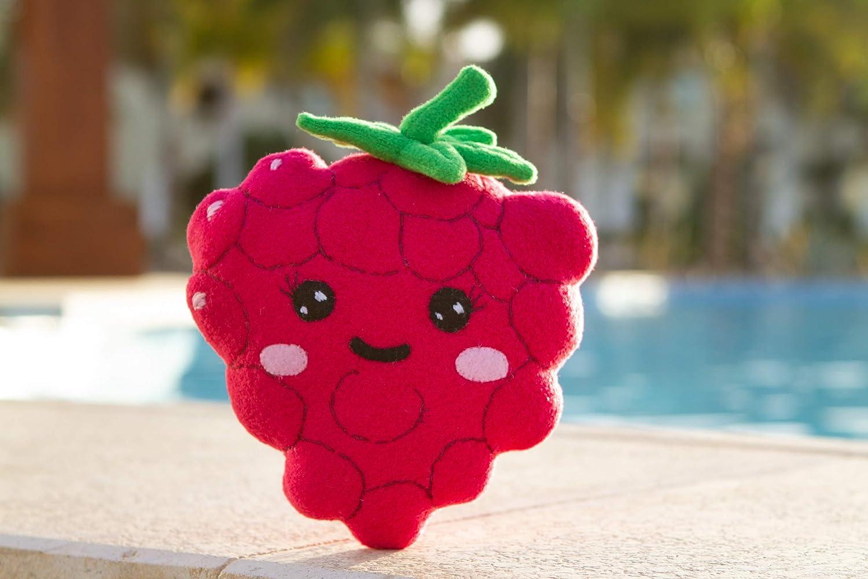 Handmade Berry plush Raspberry Kawaii plush 8 in Kawaii Berry plush toy