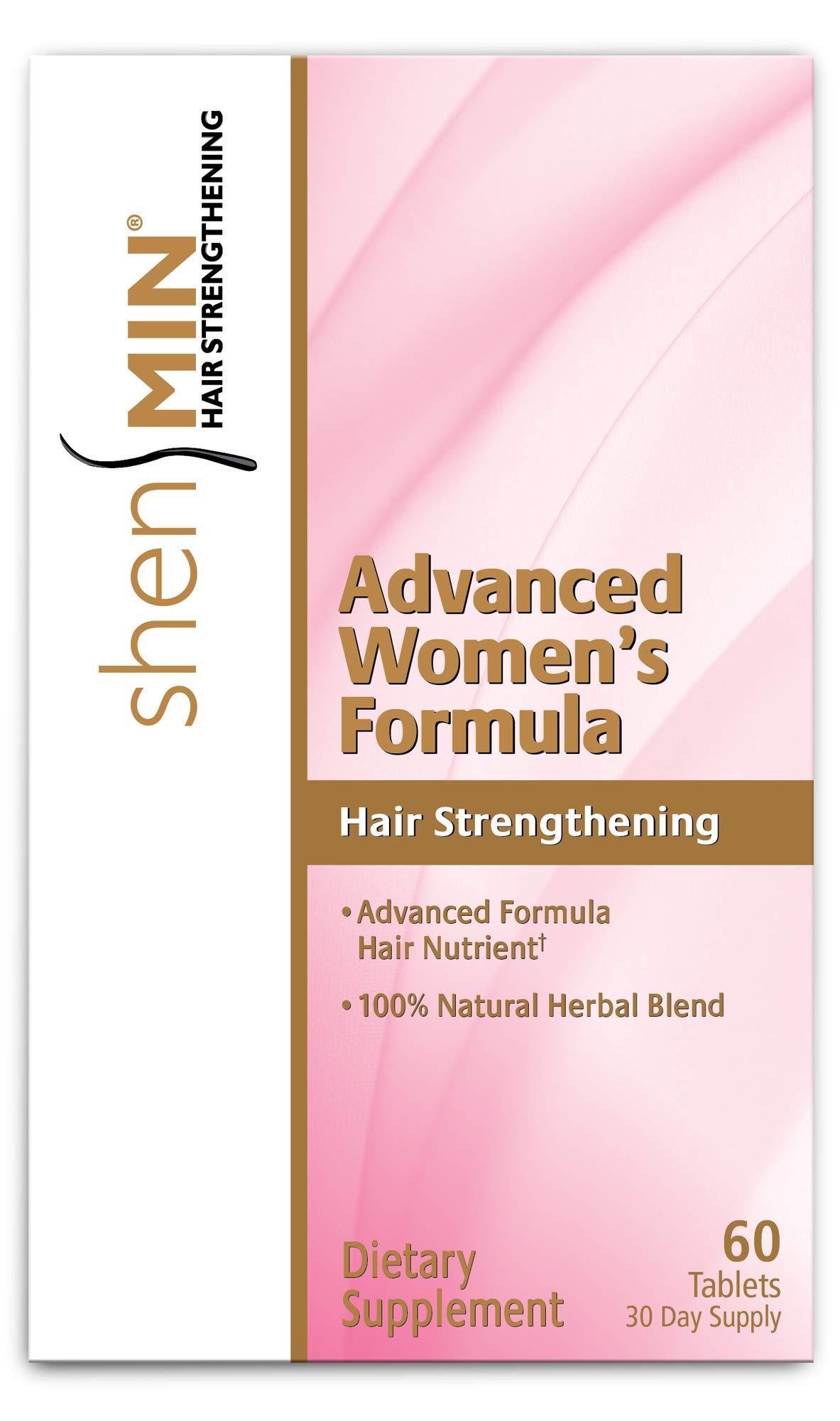 Shen Min Hair Re-growth Advanced Women Formula Tablets, 60 Ea, 60count