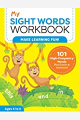 My Sight Words Workbook: 101 High-Frequency Words Plus Games & Activities! (My Workbooks) Paperback