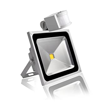 20W Foco LED con Sensor Movimiento,Impermeable IP65 Proyector LED ...